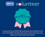 RSPCA Microvolunteer! (1)